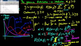 39 - The gamma distribution - an introduction
