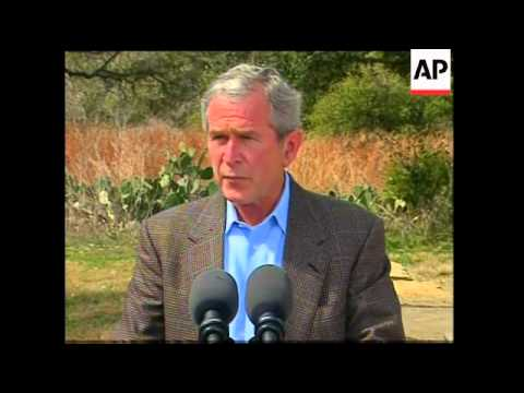 President Bush meets Danish PM, comment on Iran, Iraq, Afghanistan