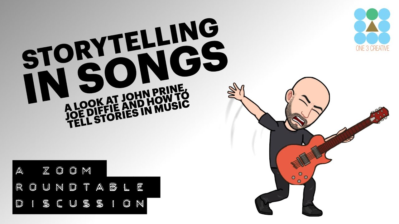 How to Tell Stories in Song and a tribute to John Prine - Roundtable Discussion with THE ROAMies