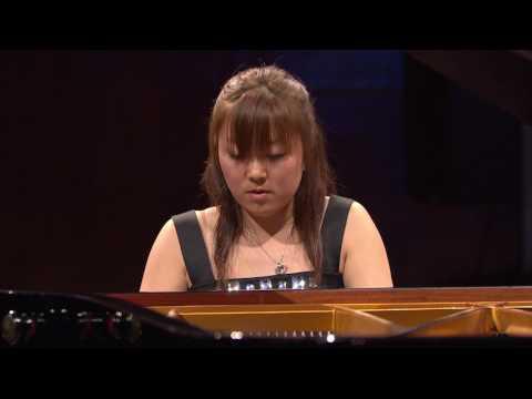 Kana Okada – Etude in A minor, Op. 25 No. 11 (first stage, 2010)