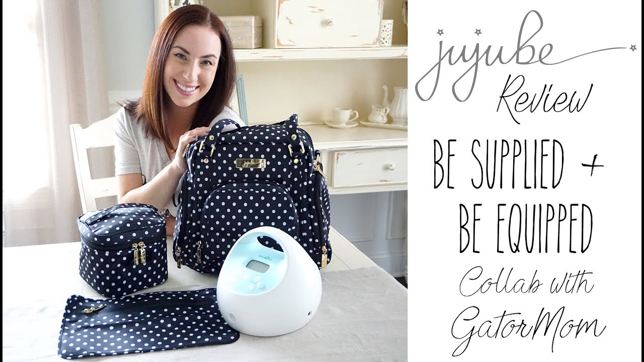 new concept 6d68d b5b12 Review  Ju-Ju-Be Be Supplied Pump Bag   Be Equipped Packing Video   Collab  with GatorMom!