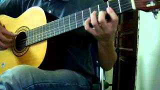 (Trịnh Công Sơn) Mưa hồng - Guitar classic