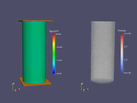 3D FDEM Simulation Of Rock Failure In Uniaxial Compressive Strength (UCS) Test