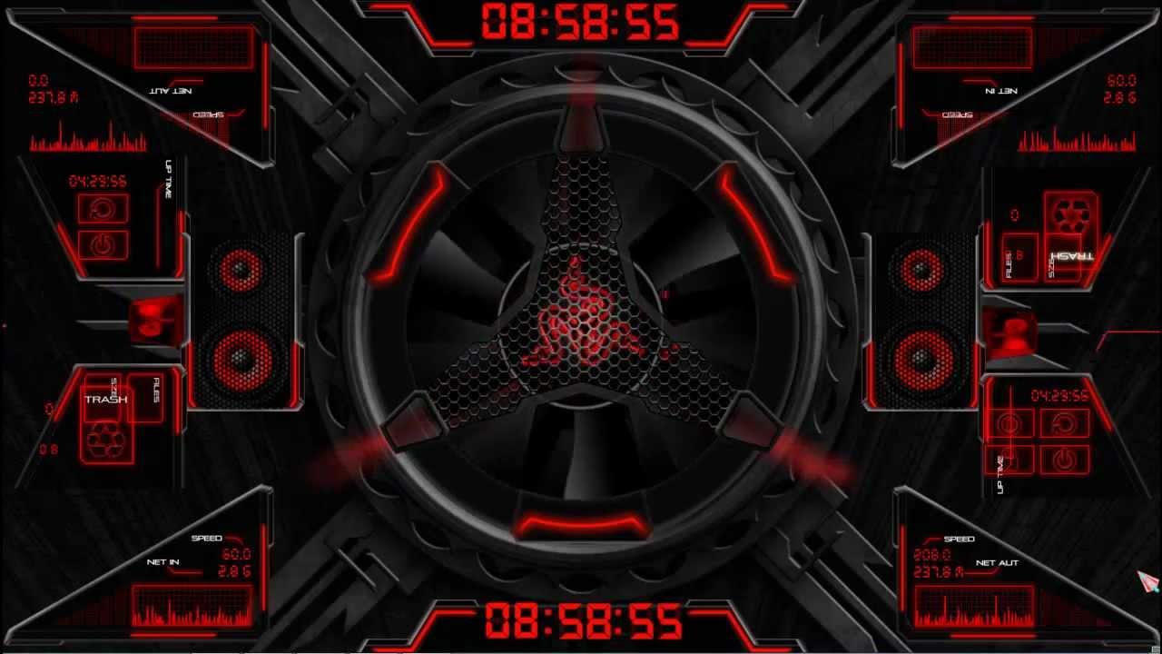 3d Live Wallpaper Themes X Tornado Red Razer Blade Rainmeter 2020 Youtube