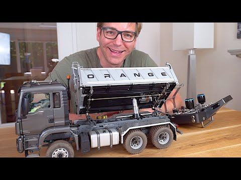 REVIEW Of AMAZING RC TRUCK With REALISTIC Hydraulics I RC Truck Action Studio
