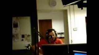 """Erwin Nyhoff met """"Leavin' on a Jetplane"""" in Met de Muziek Mee op Vechtdal FM"""