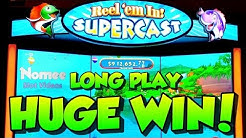 ★NEW GAME!!★ REEL'EM IN! SUPERCAST Slot Machine ★Long Play with HUGE WIN!!! 🤑🎰🐠🐟🐡
