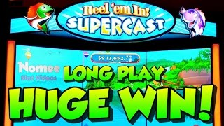 ★NEW GAME!!★ REEL'EM IN! SUPERCAST Slot Machine ★Long Play with HUGE WIN!!! 🤑🎰🐠🐟🐡(This is Reel'Em In! Supercast by SG/WMS. It seems like a total gimmick slot machine but after playing it for a while I really enjoyed playing it. I may be biased ..., 2017-01-30T14:41:09.000Z)