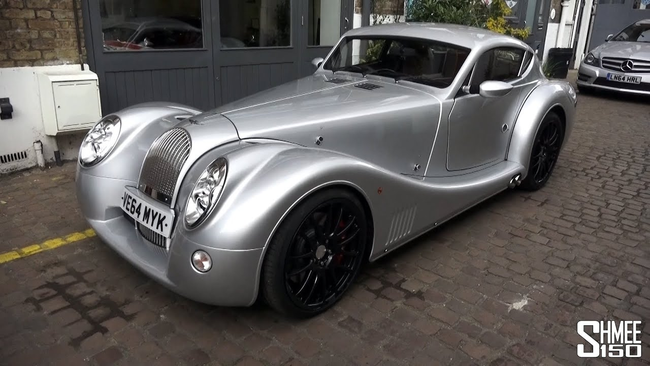 Driving with SaabKyle04 in a Morgan Aero Coupe - YouTube