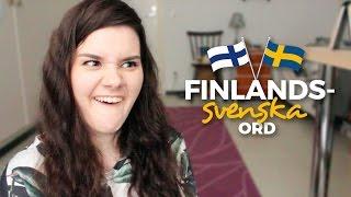 15 finlandssvenska ord jag ofta använder