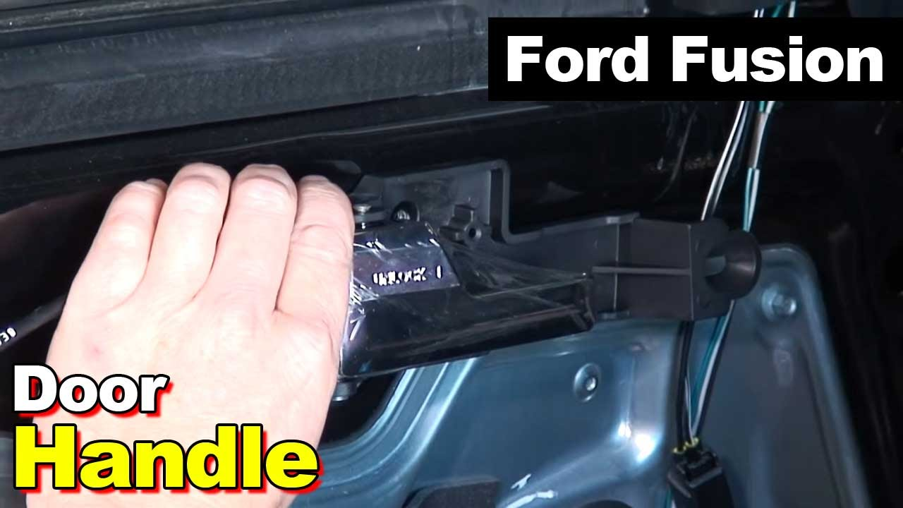 2006 2012 Ford Fusion Interior Door Handle Youtube