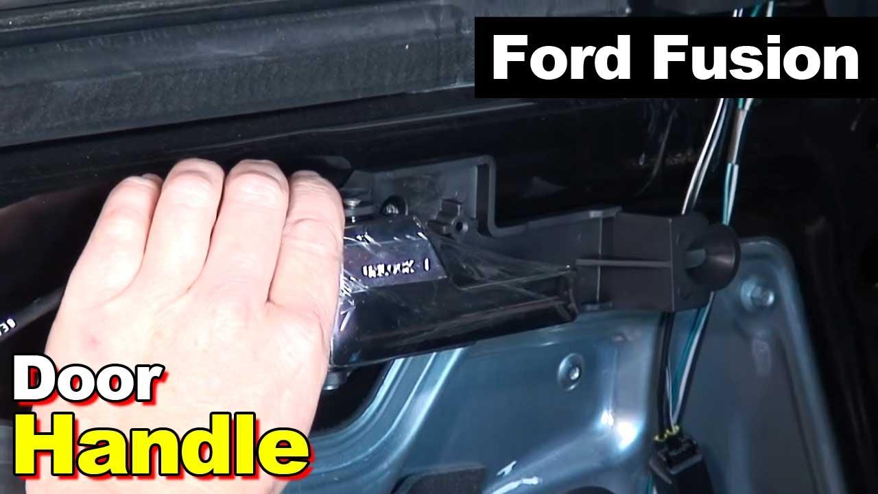 medium resolution of 2006 2012 ford fusion interior door handle youtube ford fusion door diagram