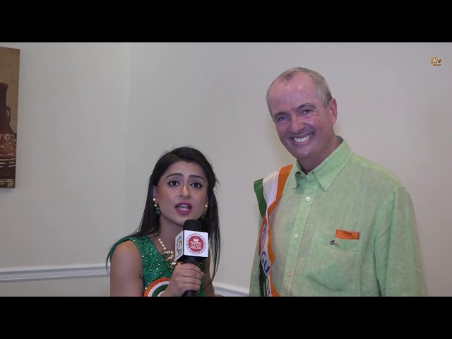 ITV Gold Exclusive - NJ Governor Phil Murphy On India, Diversity & Respect