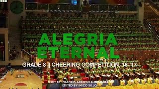 ALEGRIA ETERNAL || CSA BATCH 2021 || CHEERING COMPETITION '16-'17