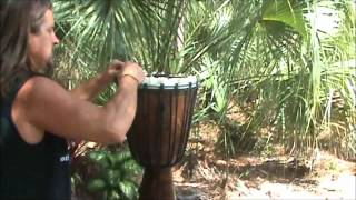 How to Reskin a Djembe Drum