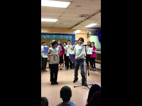 4th grade Kinneret Day School - Tea & Poetry