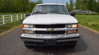 1995 CHEVROLET TAHOE LT 5.7L V8 2 DOOR 4X4 118K 1 OWNER