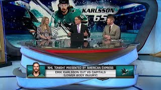 NHL Tonight:  Why Erik Karlsson is missing his sixth game in a row?  Feb 14,  2019