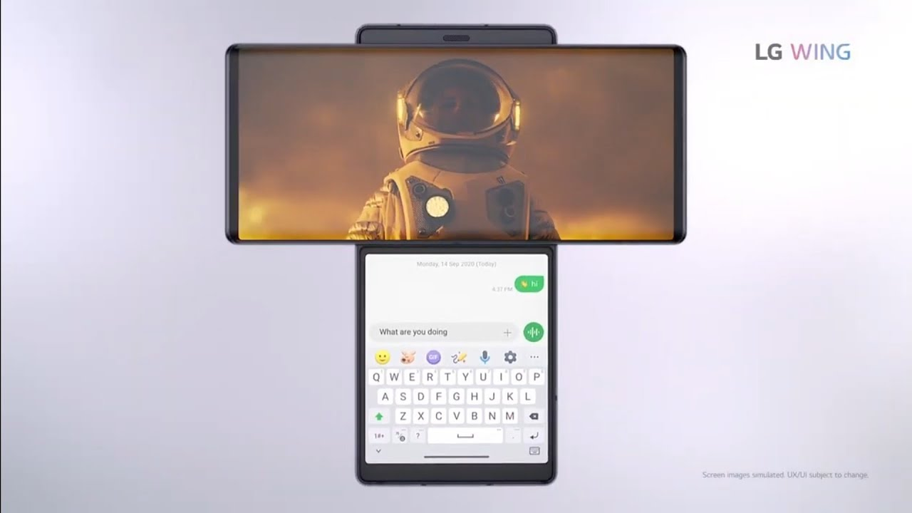 LG WING PHONE OFFICIAL TRAILER ...