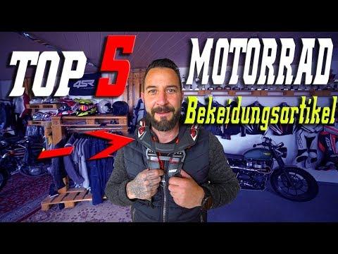 Meine Top 5 Motorrad Bekleidungs Artikel  Jens Kuck