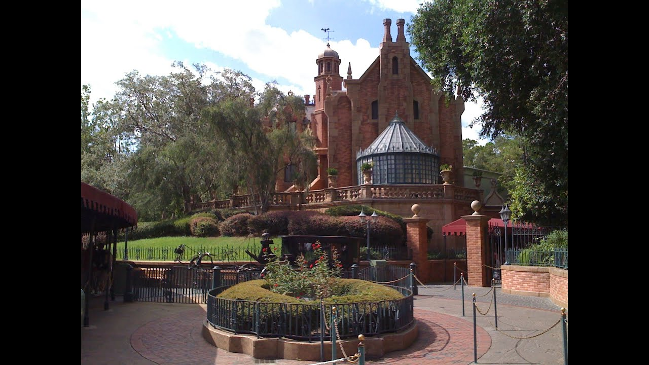 The Haunted Mansion Complete Experience HD Magic Kingdom Walt ...