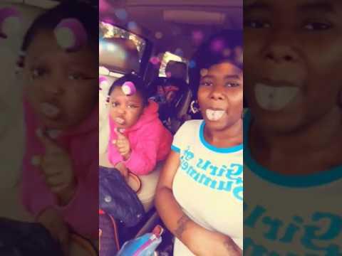 3 year old C'Niyah kills it to Black Youngsta