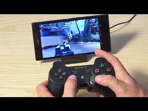 How To Connect Ps3 Controller To Android Phone Hd Sixaxis