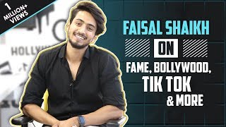 Faisal Shaikh aka Faisu Exclusive Interview | Talks About Bollywood, Tik Tok, Music Video & More