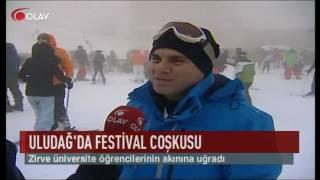 Uludağ'da festival coşkusu (Haber 18 01 2017)