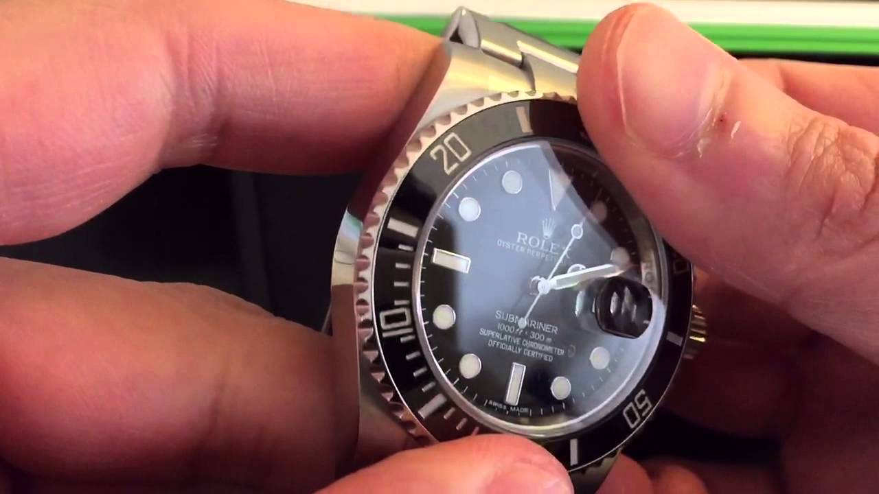 Rolex Submariner Date Ceramic small wrist