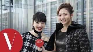 謝沛恩 Chanel秀場訪問小松菜奈Nana Komatsu|VOGUE客座編輯|巴黎時裝週