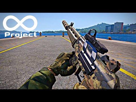 Модпак Project Infinite для ARMA 3