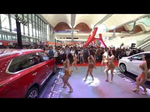 Gian hàng Mitsubishi - tâm điểm của Auto Expo 2019  XEHAY.VN 