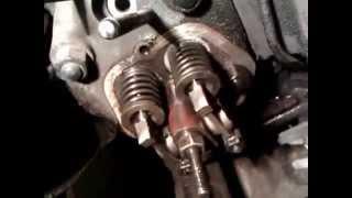 Регулювання клапанів мотоблока