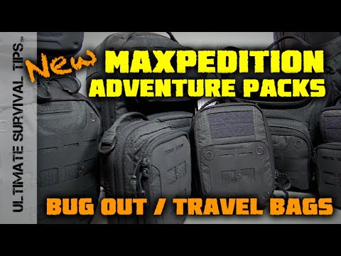 SHOT Show 2016 - Maxpedition Iron Storm Adventure / Bug Out Pack - SHOT Show 2016