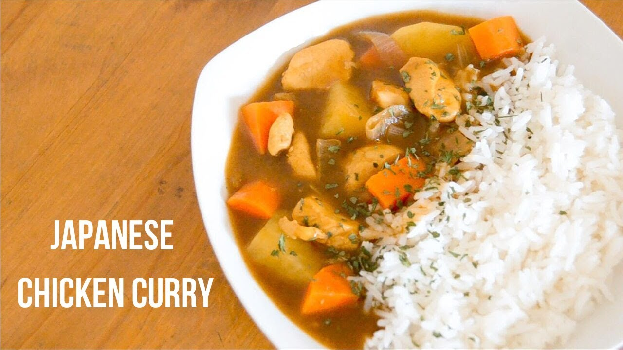 Easy Japanese Chicken Curry Rice Recipe Youtube