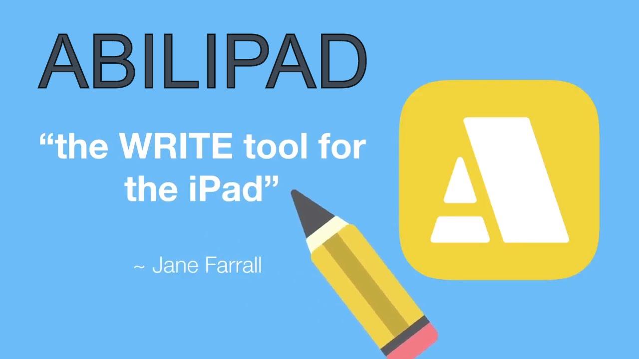 Abilipad | Assistive Technology word processing app