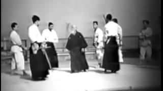 Морихей Уесиба. Семинар 1957 года
