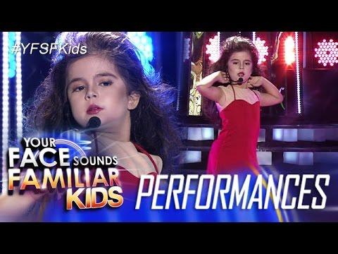 Your Face Sounds Familiar Kids: Xia Vigor as Thalia - Maria Mercedes