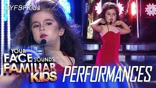 vuclip Your Face Sounds Familiar Kids: Xia Vigor as Thalia - Maria Mercedes