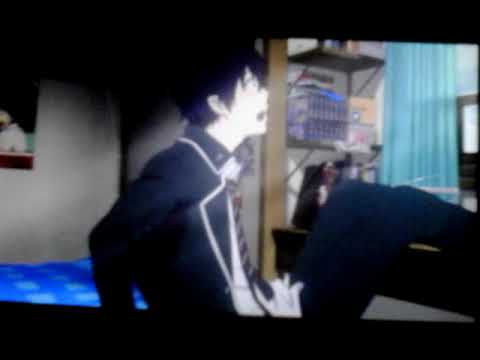Blue exorcist the movie scene rin search for usamaro