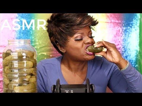 Simply Pickles ASMR Eating Sounds For Sleep