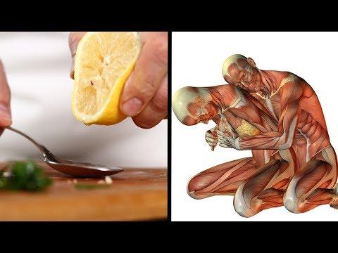 Zitrone mit Salz verlieren Gewicht
