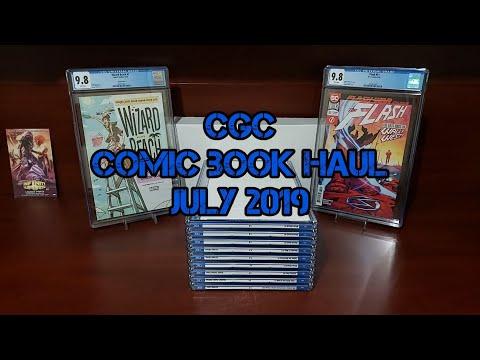 CGC Comic Book Haul July 2019