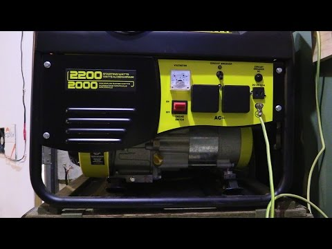 Off Grid. My Generator Wiring