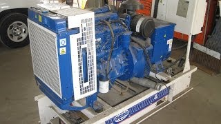 [4.35 MB] FG Wilson 40KW 208 120 V diesel generator perkins power 204 hrs! Sold, see what U missed