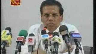 Sri Lanka proposes Interim Advisory Council for the conflict