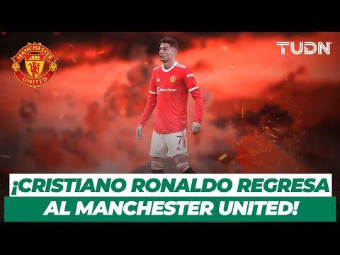 🚨 OFICIAL: ¡CR7 está de vuelta! Manchester United anunció el regreso de Cristiano Ronaldo   TUDN