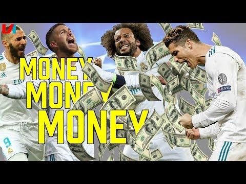WOW! '500.000 Euro Bonus voor Real Madrid-Spelers bij CL-Winst'