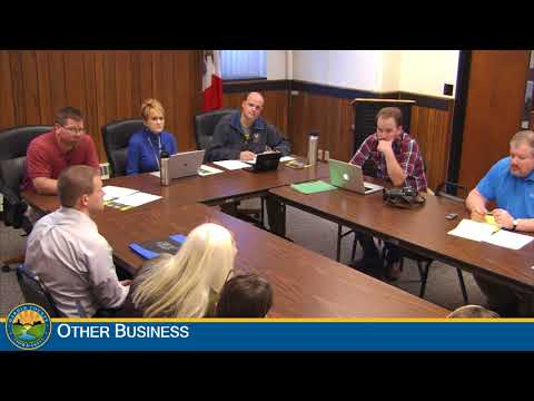 Hardin County Board of Supervisors Meeting 11-29-2017